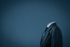 Businessman without head Stock Photos
