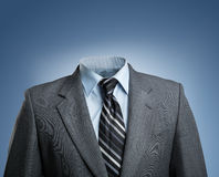 Businessman without head Royalty Free Stock Photography