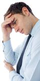 Businessman with a headache Stock Photography