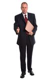 Businessman Hello Royalty Free Stock Photos