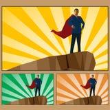 Businessman_hero 免版税库存图片