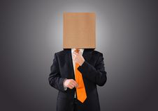 Businessman hidden Stock Photos
