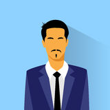 Businessman hispanic asia race profile icon male Stock Photo