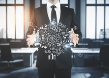 Leadership and workshop concept Stock Images