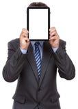 Businessman holding digital tablet Royalty Free Stock Photos