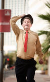 Businessman In A Hurry Royalty Free Stock Photography