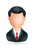 Businessman, icon Stock Image