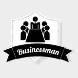 Businessman icon. Design,  illustration eps10 graphic Royalty Free Stock Image