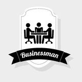Businessman icon Royalty Free Stock Image