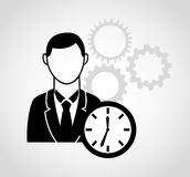 Businessman icon Royalty Free Stock Photography