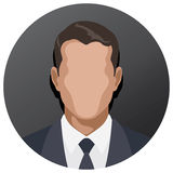 Businessman icon Royalty Free Stock Images