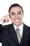 Businessman with an idea Royalty Free Stock Photos