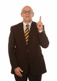 Businessman with idea Royalty Free Stock Photo