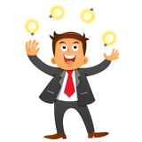 Businessman idea concepts. Royalty Free Stock Images