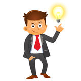 Businessman idea concepts Royalty Free Stock Photography