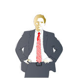 Businessman Illustration Royalty Free Stock Image