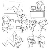 Businessman Illustrations Royalty Free Stock Photos