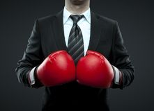 Free Businessman In Boxing Gloves Royalty Free Stock Image - 31428906