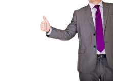 Businessman In Suit Handshake Royalty Free Stock Images