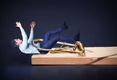 Free Businessman In The Mouse-trap Stock Photography - 69262212