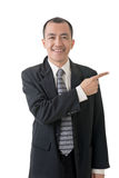 Businessman introduce Stock Photos