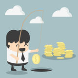 Businessman investment concept Stock Image