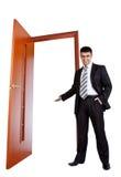Businessman invitate Stock Photo