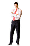 Businessman isolated Royalty Free Stock Image