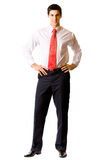 Businessman isolated Stock Photography