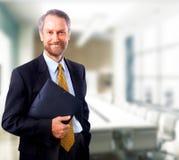 Businessman isolated on white Royalty Free Stock Image