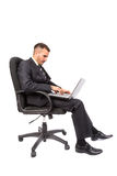 Businessman isolated Royalty Free Stock Photo