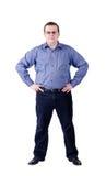 Businessman isolated Stock Photos