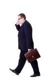 Businessman isolated Stock Image