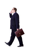 Businessman isolated Stock Images