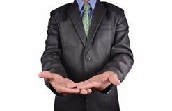 Businessman isolated on white background Royalty Free Stock Images