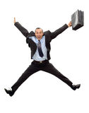Businessman jump Royalty Free Stock Images