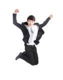 Businessman jump Stock Image