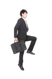 Businessman jump Stock Photo