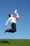 Businessman Jumping Stock Images