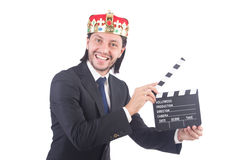 Businessman in king concept Stock Photo