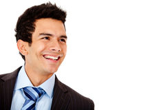 Businessman laughing Stock Photos