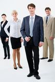 Businessman leader Royalty Free Stock Photography