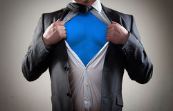 Concept for Businessman hero stock photography