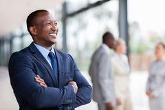 Businessman looking away Royalty Free Stock Photography