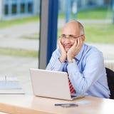 Businessman Looking Away Stock Photo
