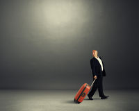 Businessman looking back Stock Photography