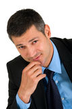 Businessman looking at camera Stock Images