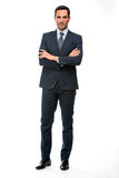 Businessman looking at camera with crossed arms Stock Photos