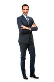 businessman looking at camera with crossed arms Stock Image