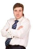 Businessman looking at camera Stock Photo